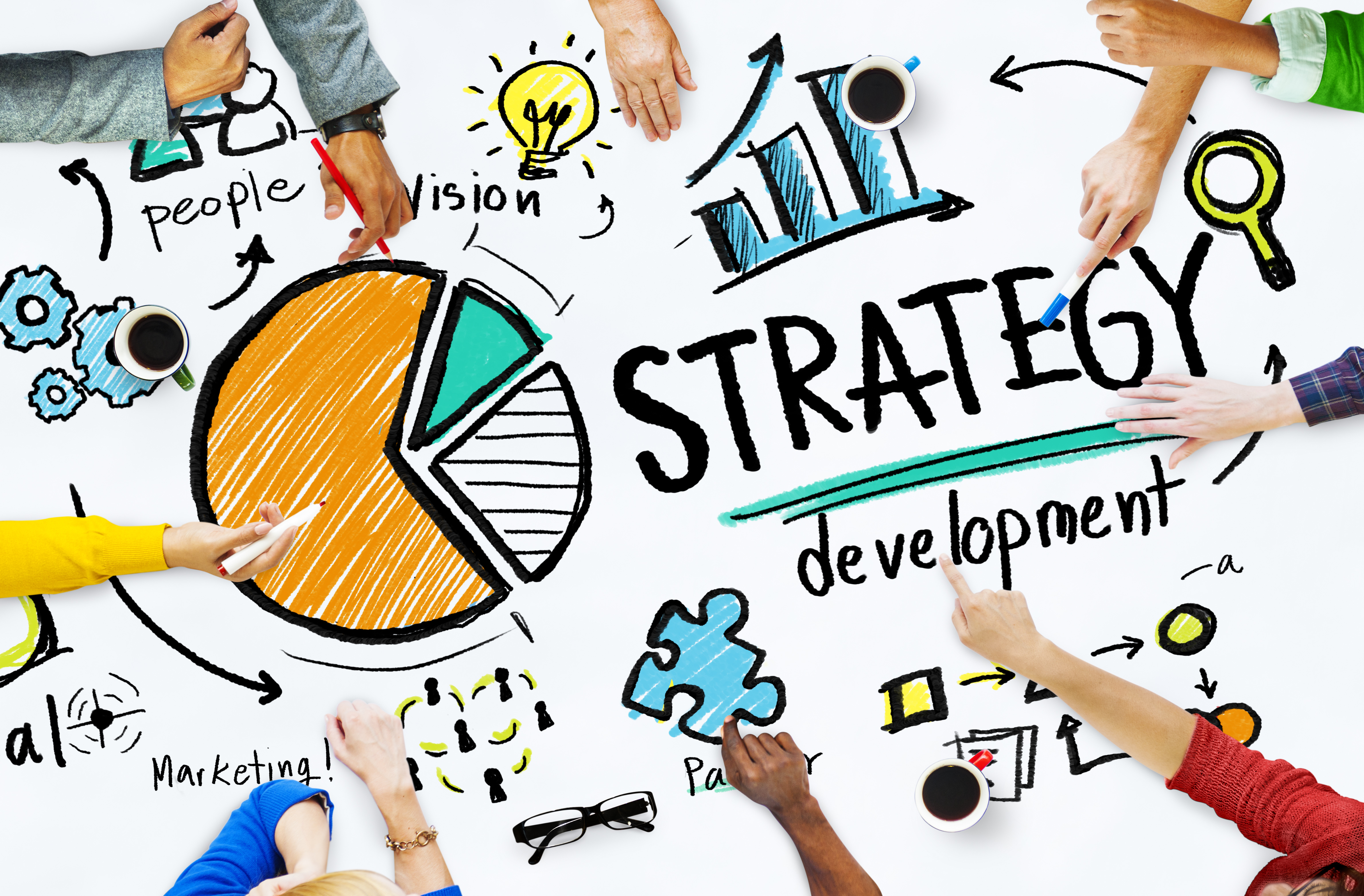 business marketing strategies Set the direction for your marketing strategy so you're satisfying your customers.
